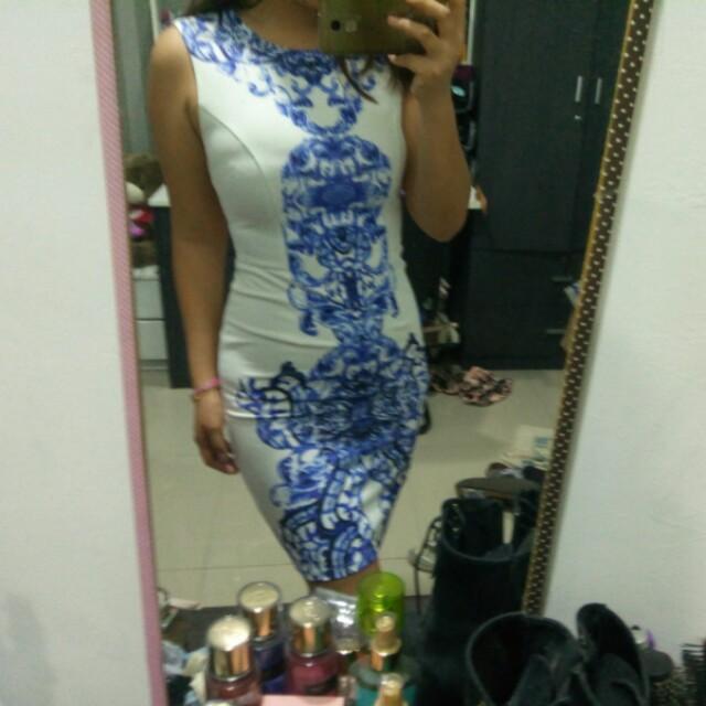 #NYB50 Love bonito mirro print dress