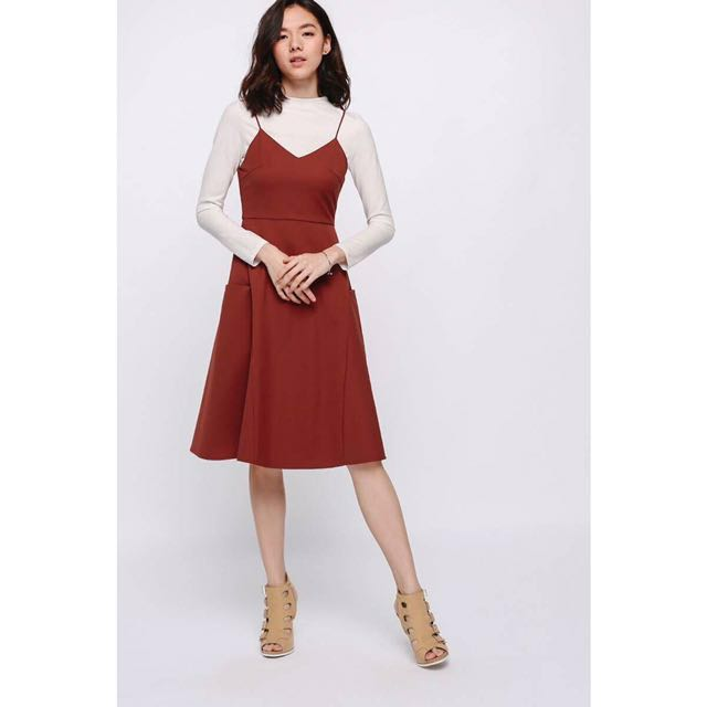 Rust Colors Dress