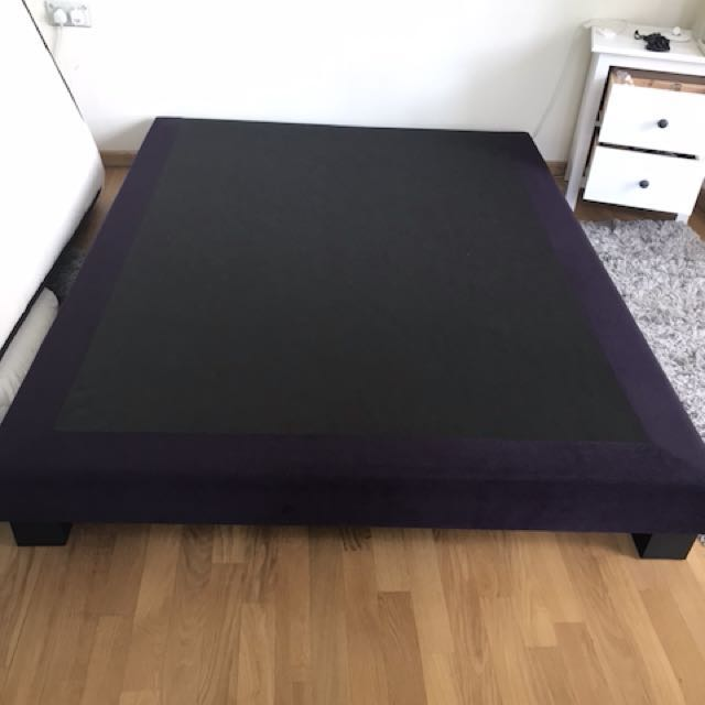 Low Level Bed Frame Furniture Beds Mattresses On Carousell