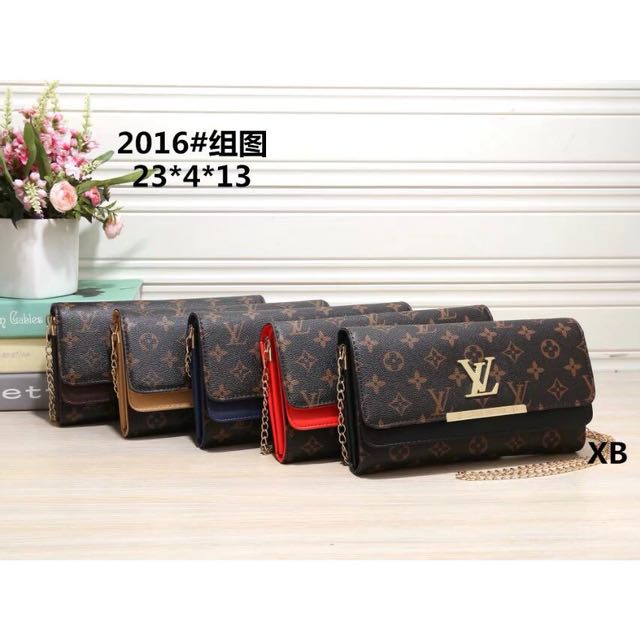【平價批發零售】LV新款女包單肩包肩背包斜挎包鏈子包