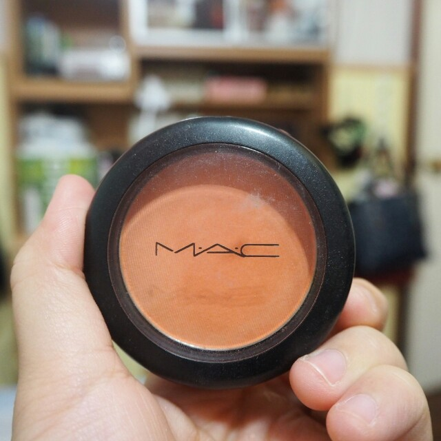 Mac powder blush Modern Mandarin