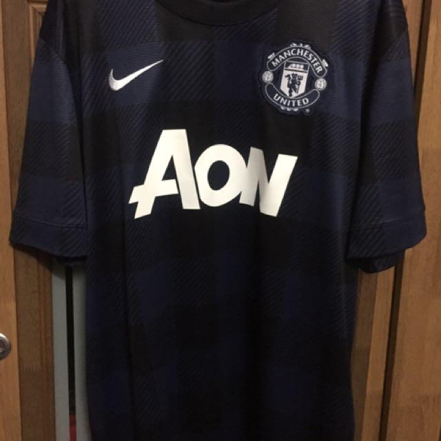 1f76ccb05 Manchester United 2013 14 Away Kit Saiz L