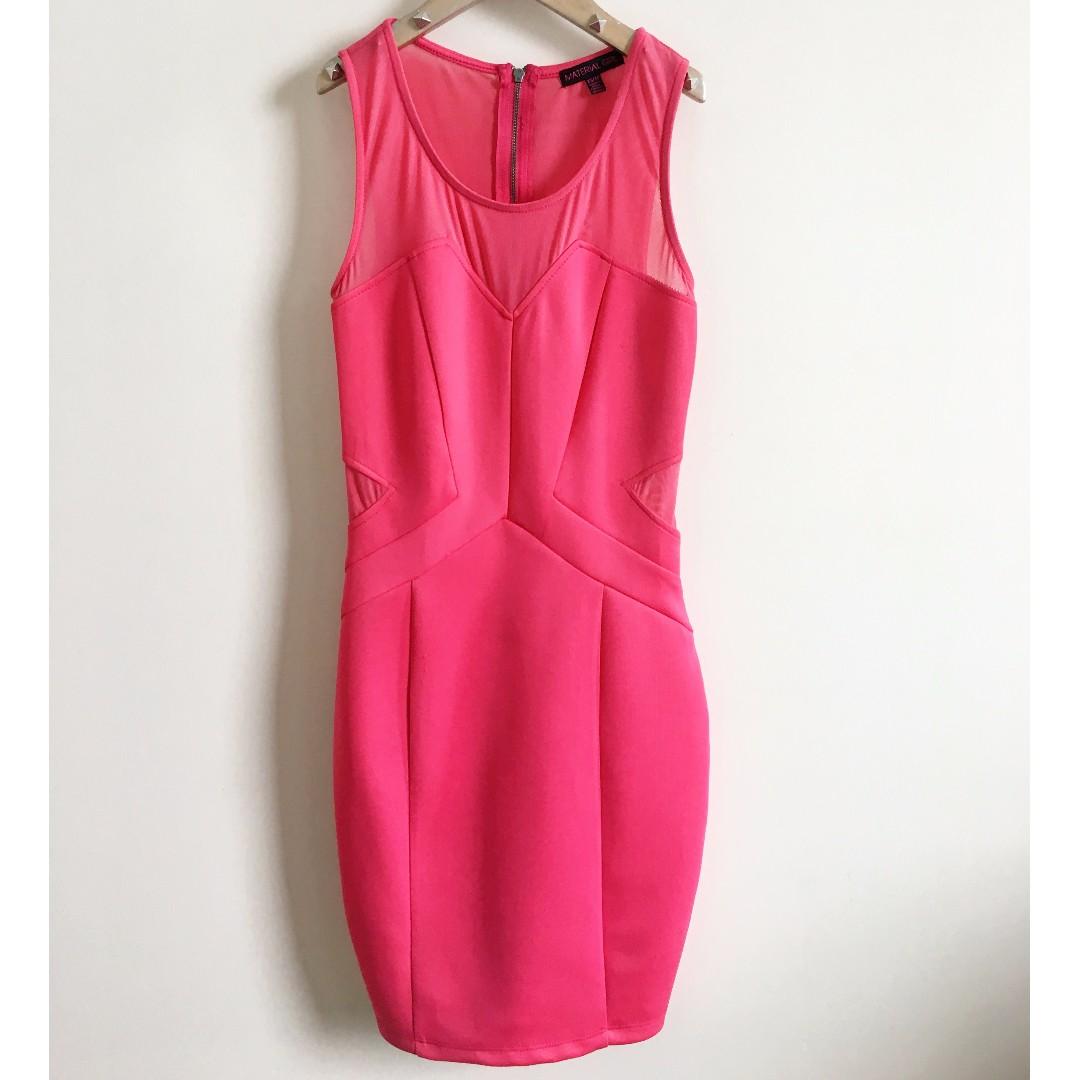 Material Girl Pink Dress