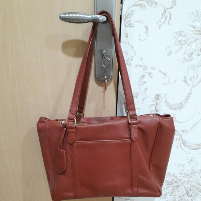 Mayonette brown tote