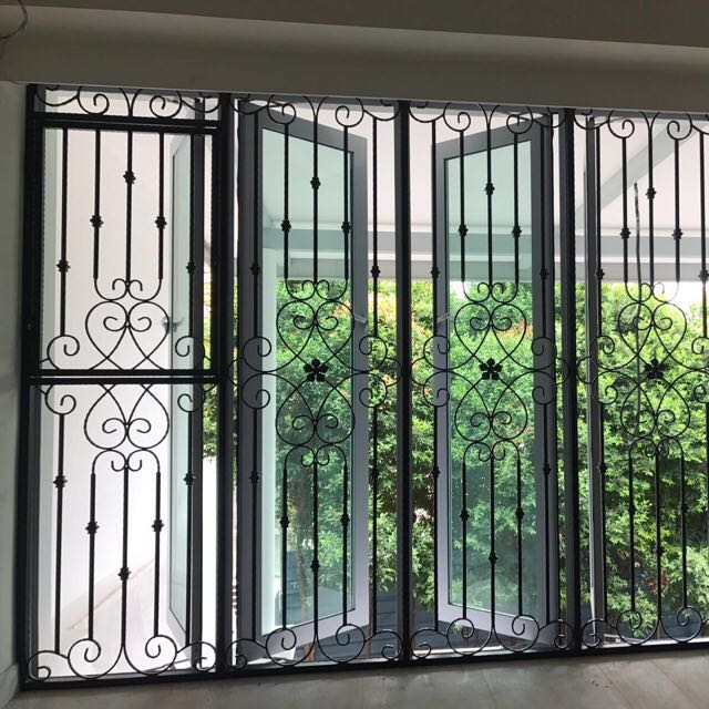 Mild Steel Wrought Iron Window Grills Furniture Others On Carousell