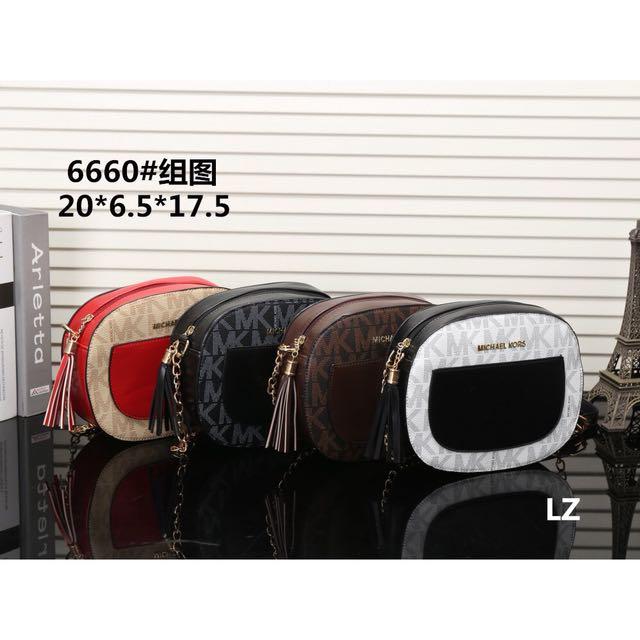 【平價批發零售】MK新款女包肩包斜挎包側背包零錢包單