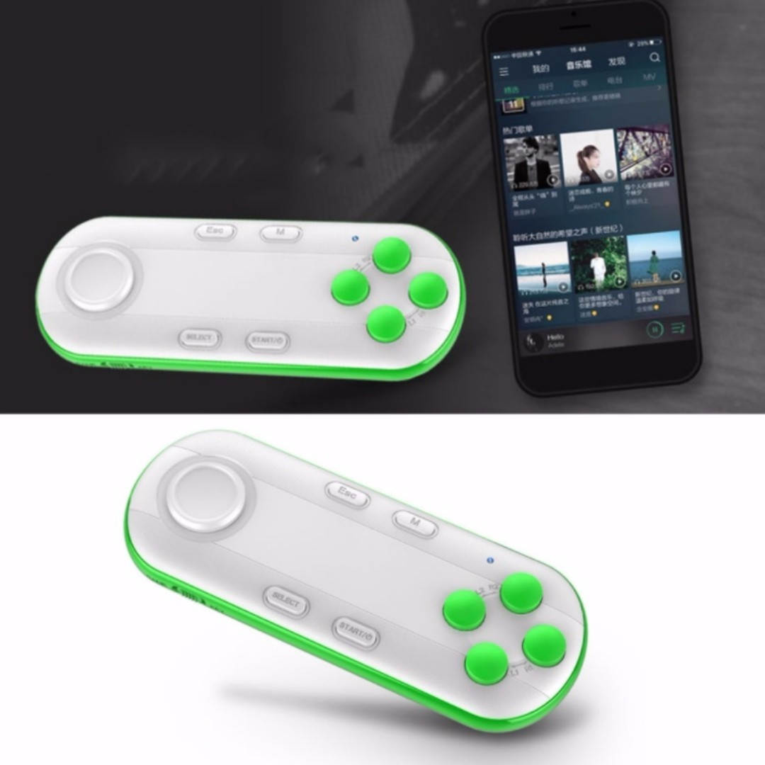 49e36f3f22c MOCUTE Bluetooth Gamepad for Android, iOS Selfie Remote Control ...