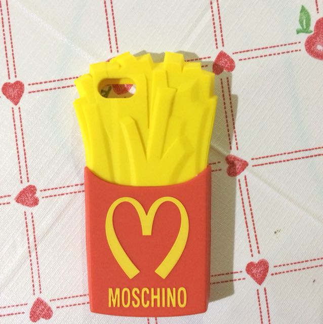 Moschino French Fries For Iphone 5/5S/5SE