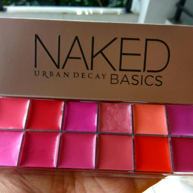 Naked Urban Decay Lip Palette