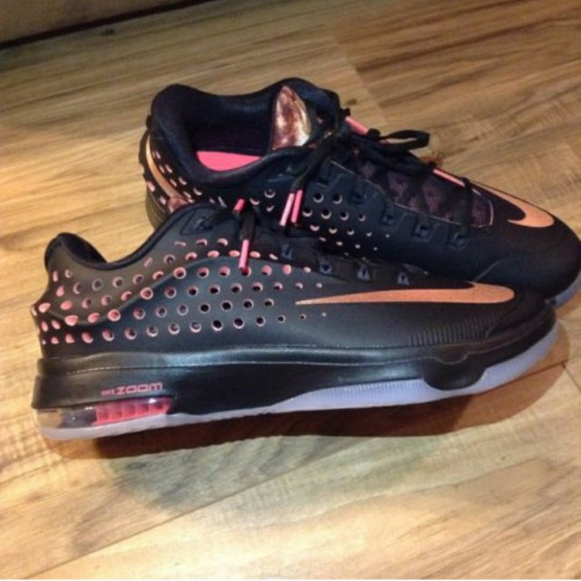 pretty nice 9da97 919f9 Nike KD VII 7 Elite Rose Gold Black Kevin, Sports, Other on Carousell