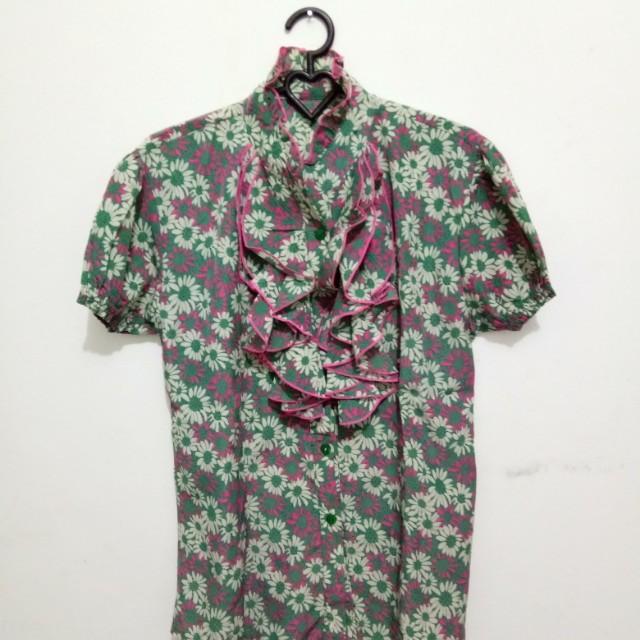 Oct Sale (blouse ruffle)