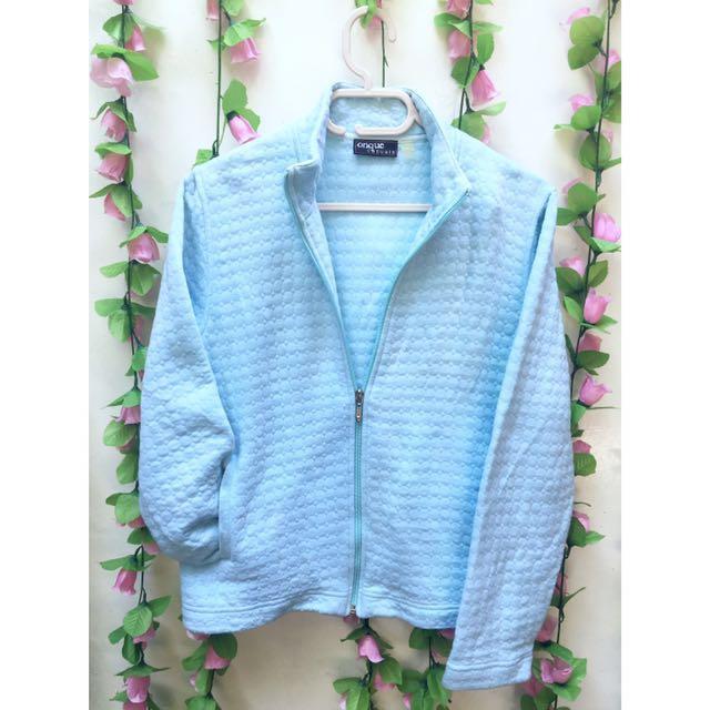 Onque Casuals Pastel Blue Jacket
