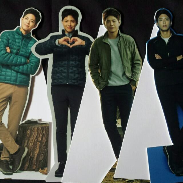 Park Bo Gum mini standees
