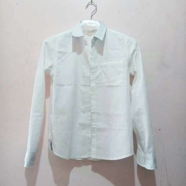 Penshoppe White Buttondown