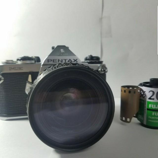 Pentax ME Film Camera with Lens