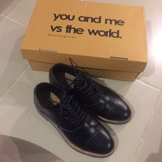 PORTEEGOODS OXFORD SHOES (38)