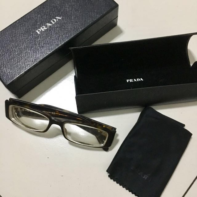 18ecd958fac9 ... where to buy prada prescription eyeglasses vpr22m preloved womens  fashion accessories on carousell 25173 59e1e