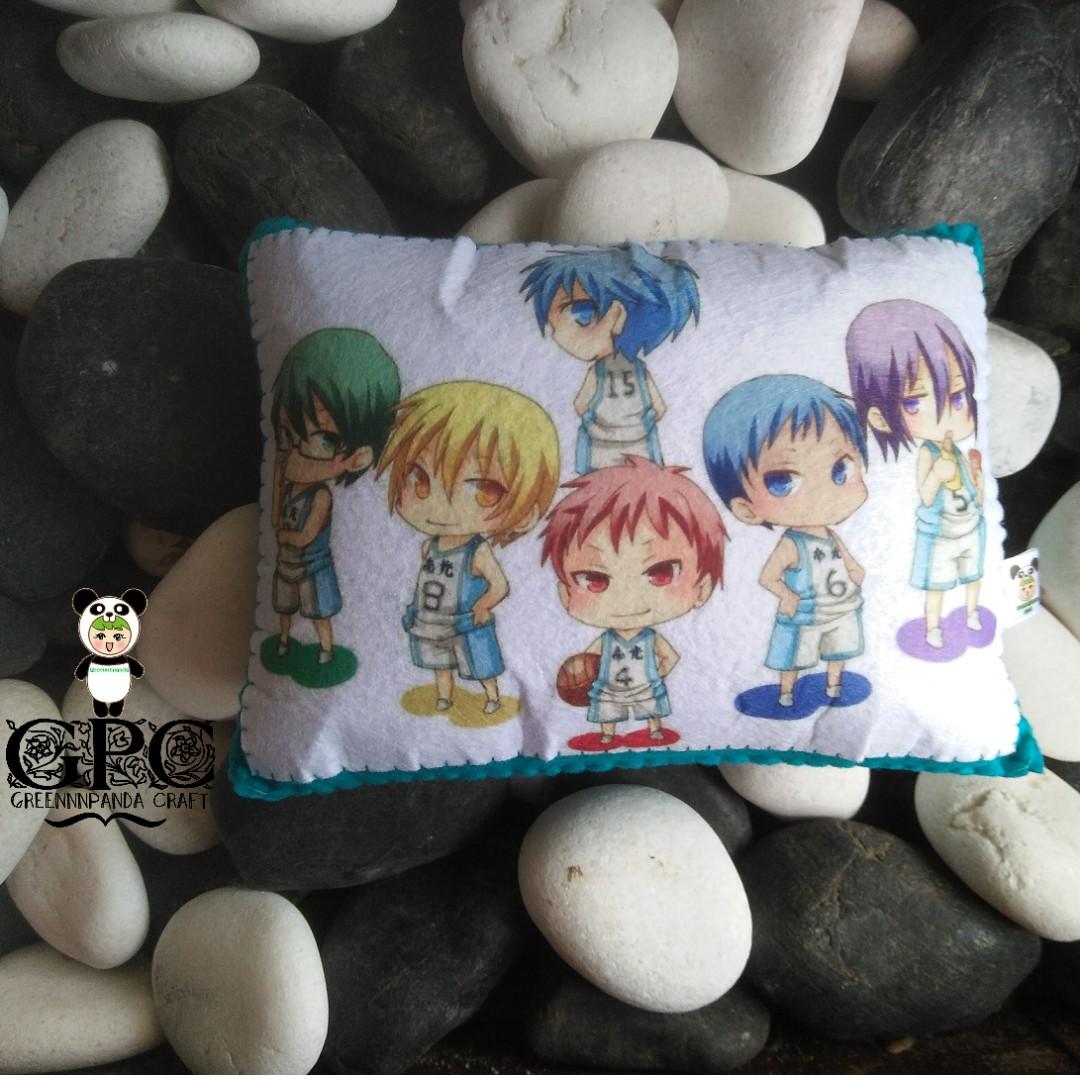 Printed Anime Mini Pillow - Kuroko no Basuke