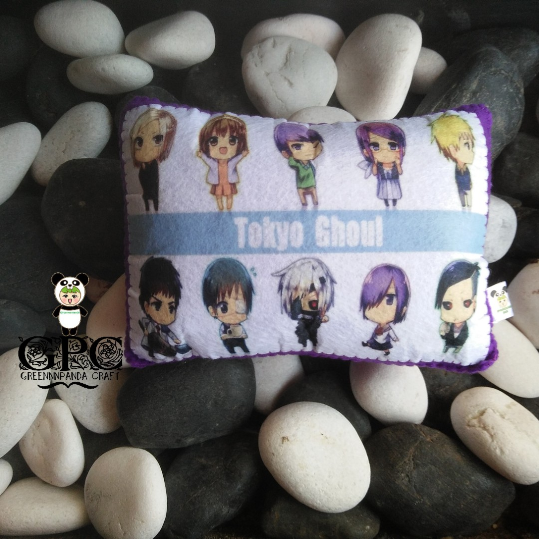 Printed Anime Mini Pillow - Tokyo Ghoul #1