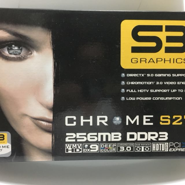 S3顯示卡