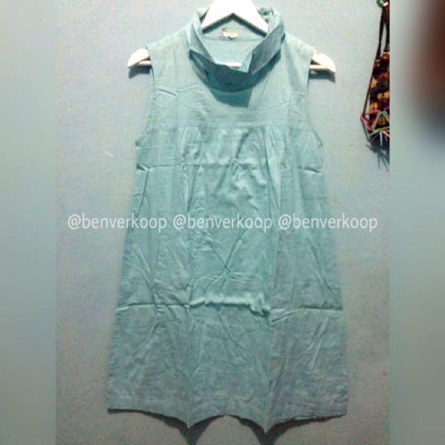 Sack dress blue