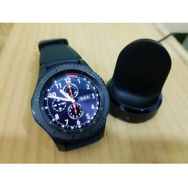 SAMSUNG Gear S3 智慧手錶 9成新