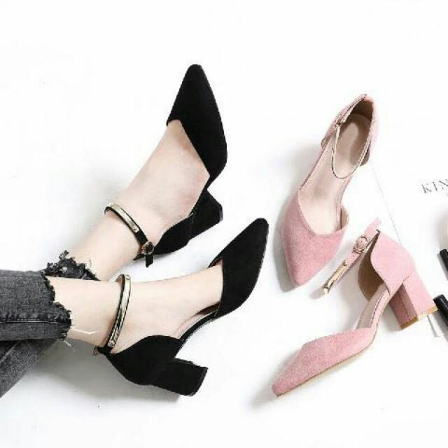 Sepatu Wanita Murah Heels Platform Zara