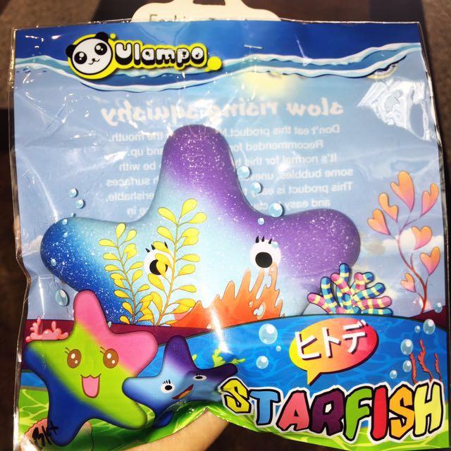 Star Fish Squishy