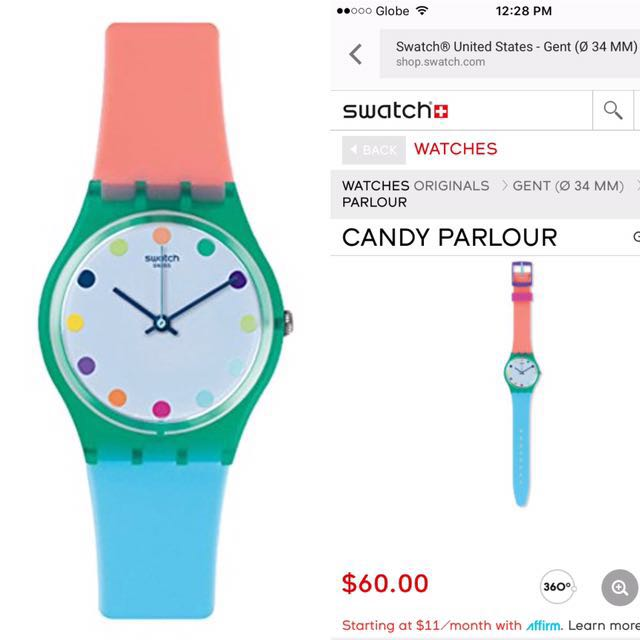 Swatch Candy Parlour Watch