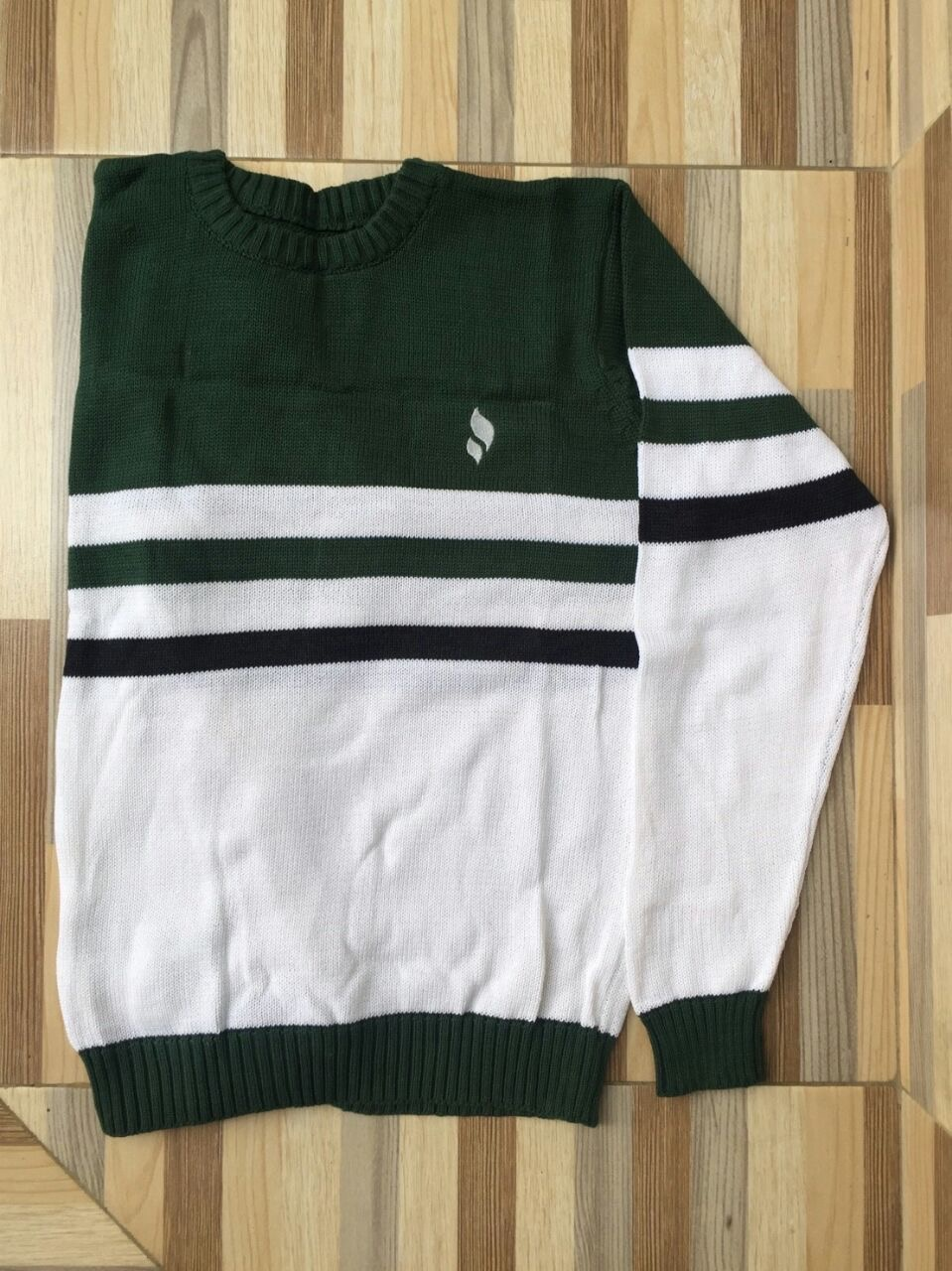 Sweater O-Neck Green