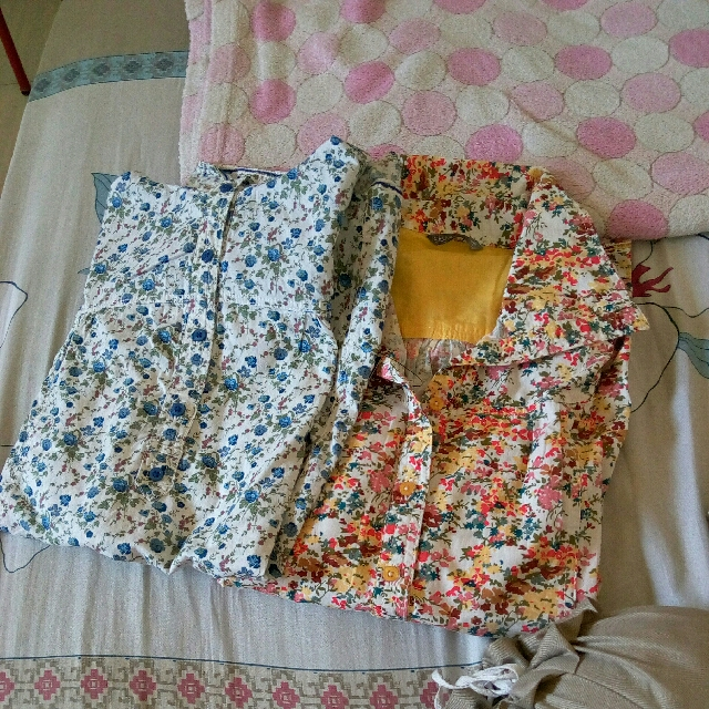 TAKE ALL (2 PCS) st yves blouse new with tag