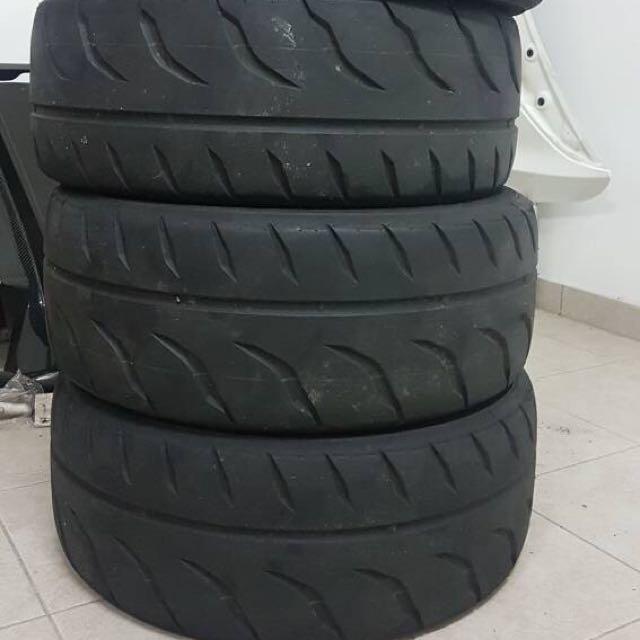 Tyre R888R 205/50/15 4pcs