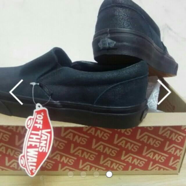 facf02430a90 Original Vans - Classic Slip on (pattern crackle) black