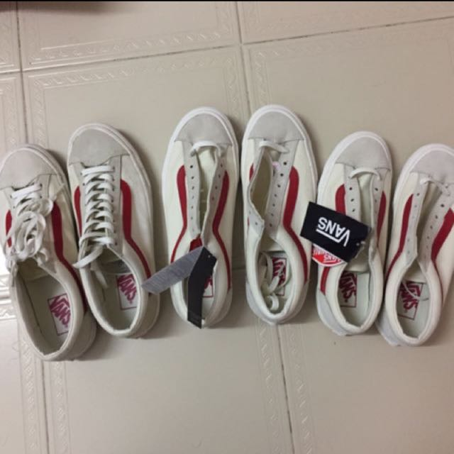 Vans Old Skool Style 36 (Marshmallow Racing Red) 2a0fea733