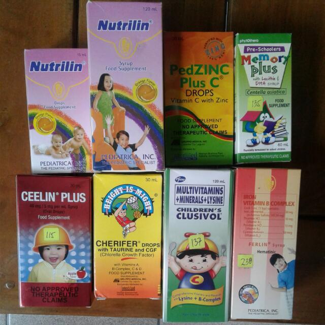 Various children's vitamins NEW and ORIGINAL