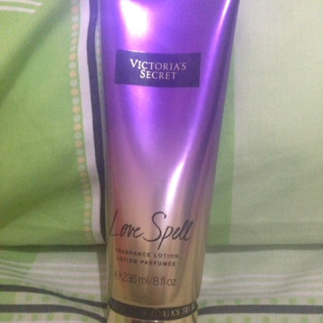 Victoria Secret Body Lotion Love Spell Fragrance Lotion