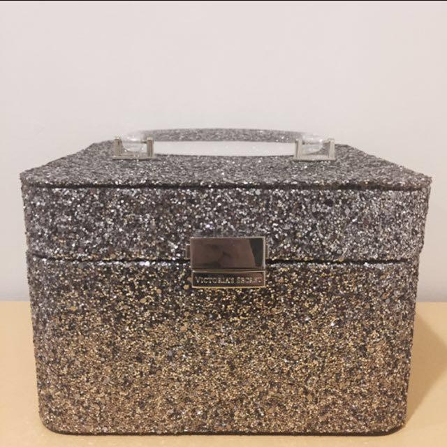 降價❤Victoria's Secret天使玫瑰珠寶盒 化妝箱