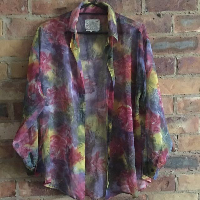 Vintage Festival hippie shirt