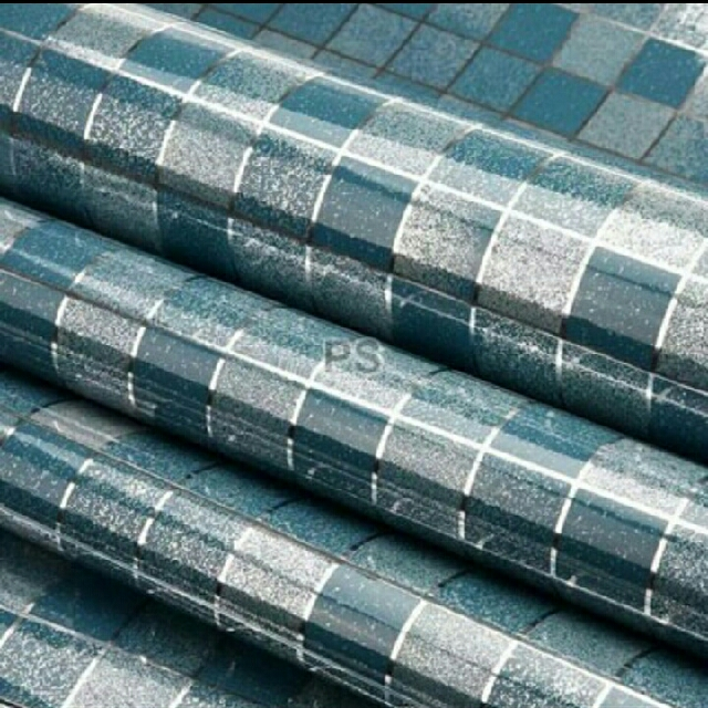 wallpaper sticker alumunium foil