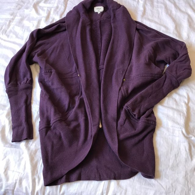 Wilfred small purple sweater