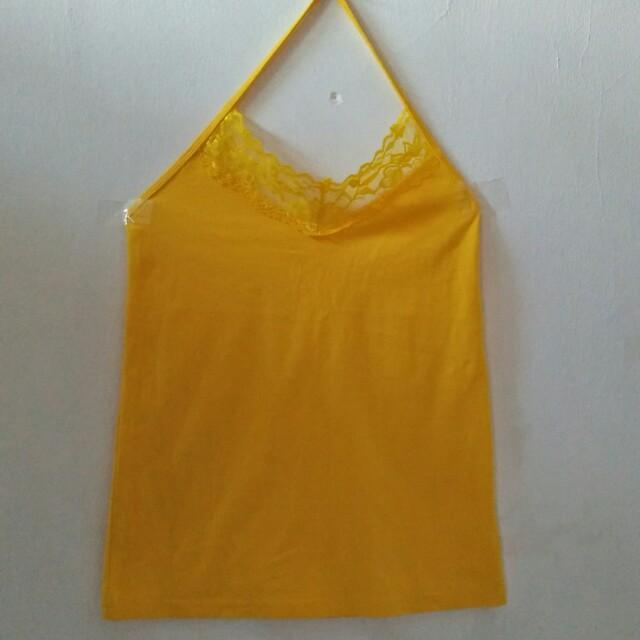 Yellow one tanktop