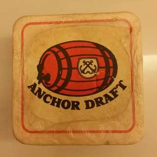 Vintage Anchor Draft coster