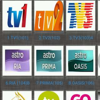 IPTV Astro malaysia Channels ( IPTV / ASTRO / Malaysia Channels / TV3 / ASTRO RIA / Malay / TVB / MYIPTV / MoonTV / worldwide channels / TV box)