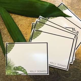 Personalized Notecards/gift tags )option: with envelopes)