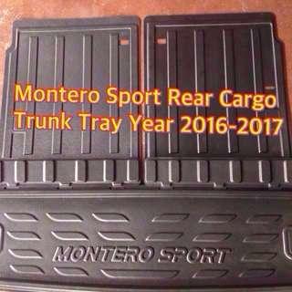 MONTERO SPORT FULL REAR CARGO TRUNK TRAY YEAR 2016-2017