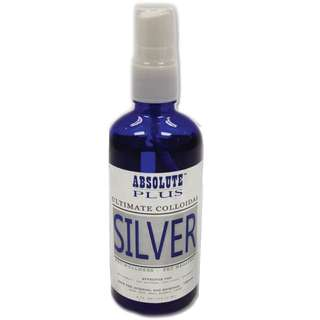 Absolute plus colloidal silver spray