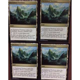 Unclaimed Territory Tribal Land - Ixalan / MTG Magic The Gathering IXN