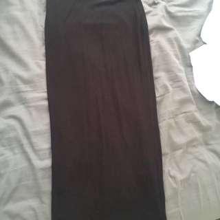 Brand New Black Maxi Skirt