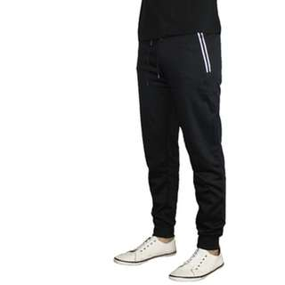 Men's Slim Fit Fleece Jogger Pants (size L)