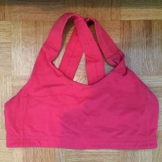 Lululemon All Sport Bra size 6 pink